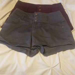 *BUNDLE 2 pairs of high waisted shorts